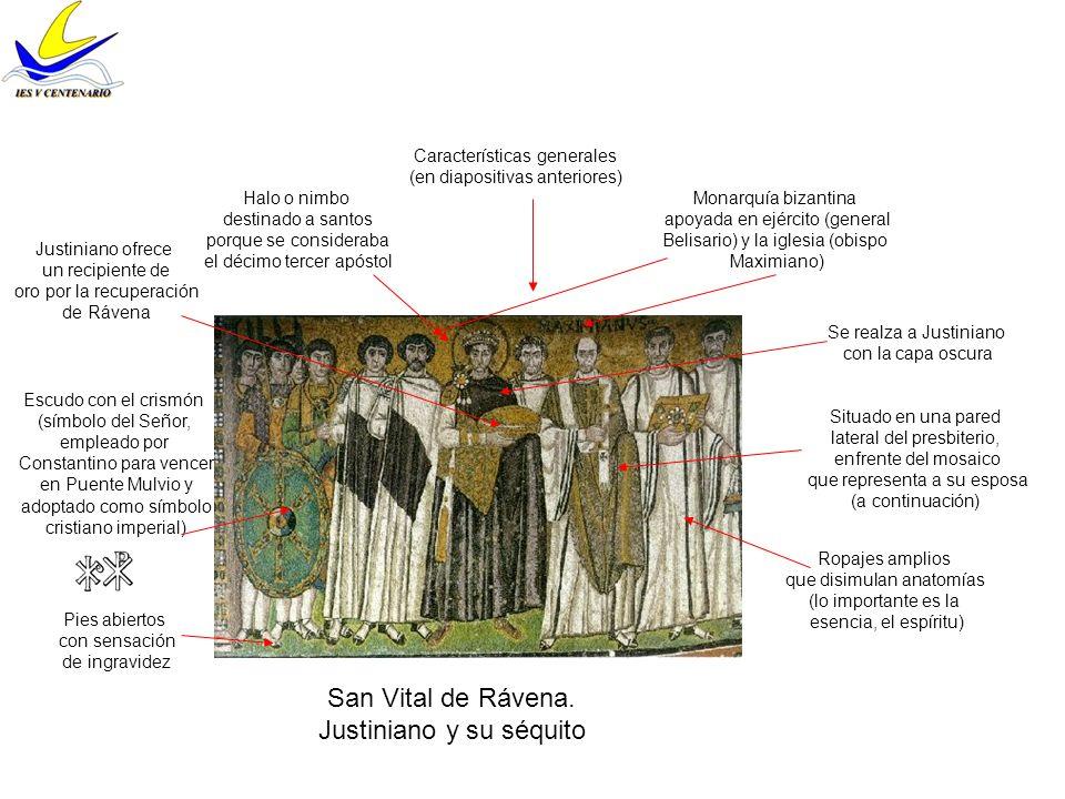 Justiniano y su séquito