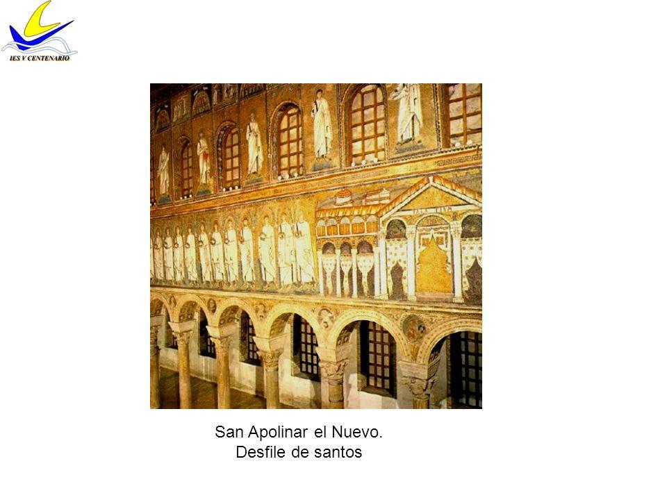 San Apolinar el Nuevo. Desfile de santos