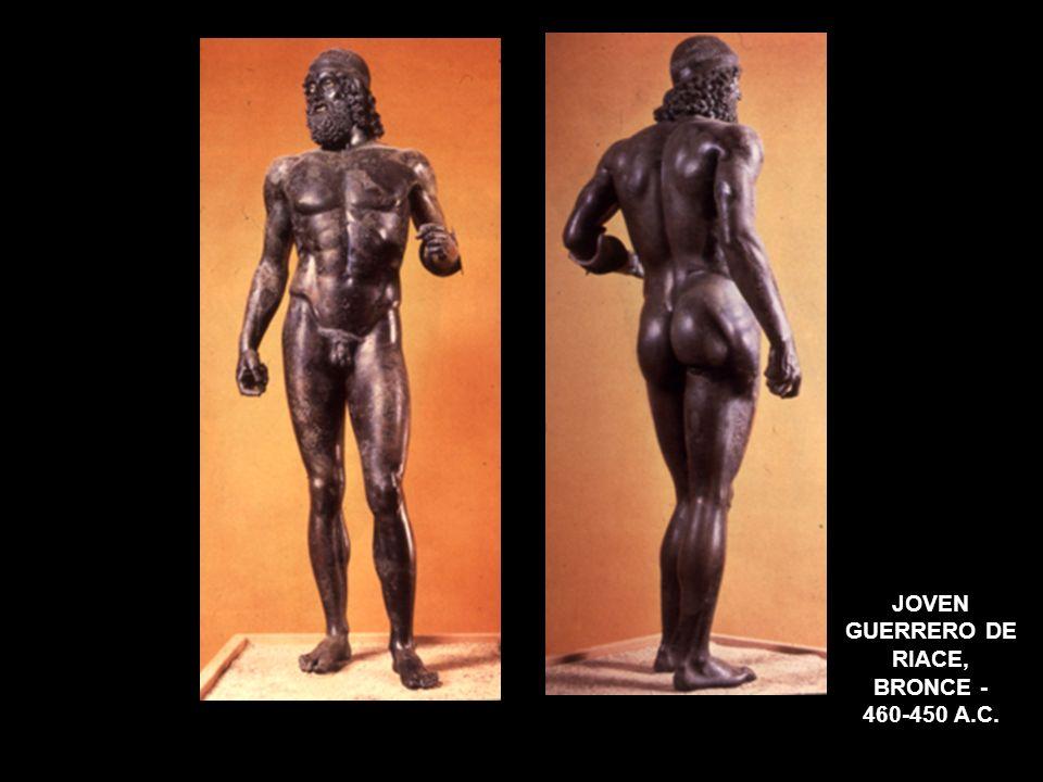 JOVEN GUERRERO DE RIACE, BRONCE - 460-450 A.C.