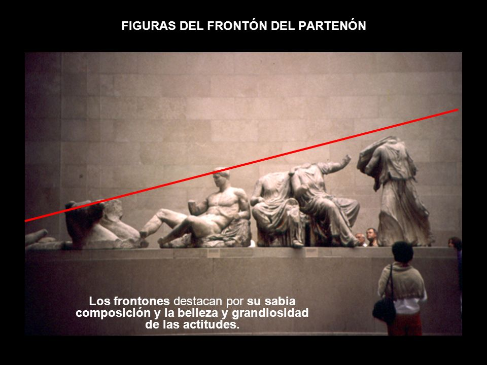 FIGURAS DEL FRONTÓN DEL PARTENÓN