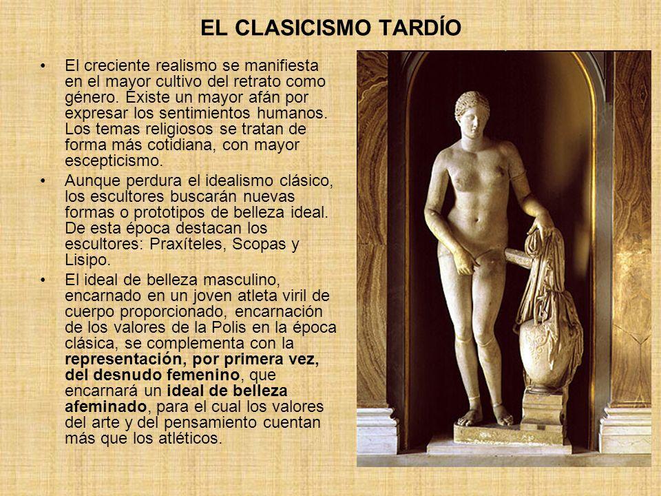 EL CLASICISMO TARDÍO