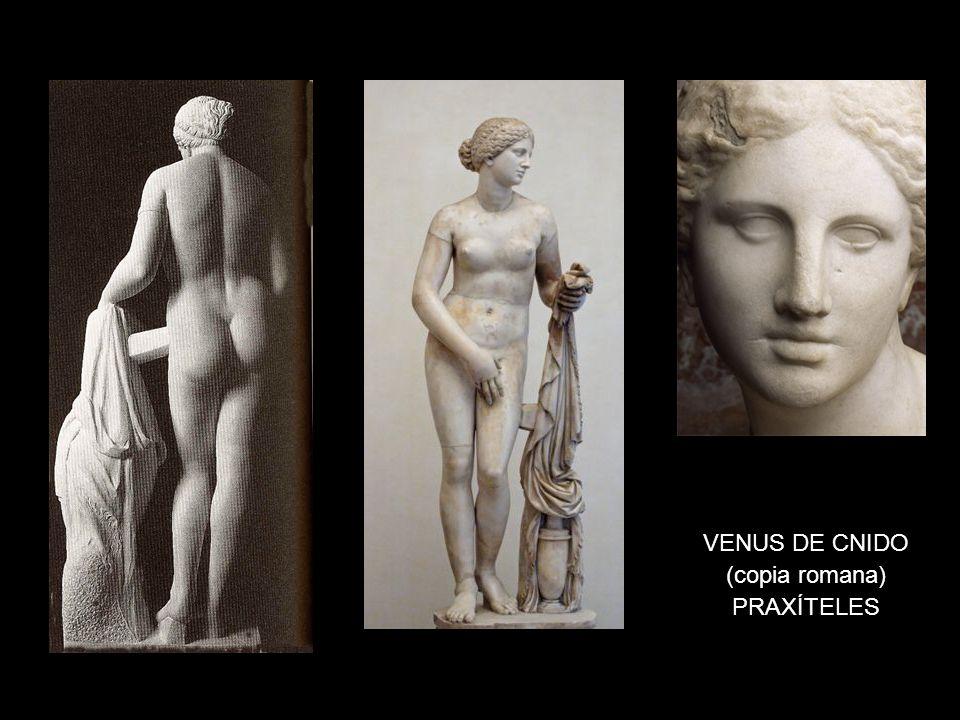 VENUS DE CNIDO (copia romana) PRAXÍTELES