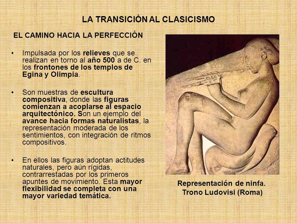 LA TRANSICIÓN AL CLASICISMO