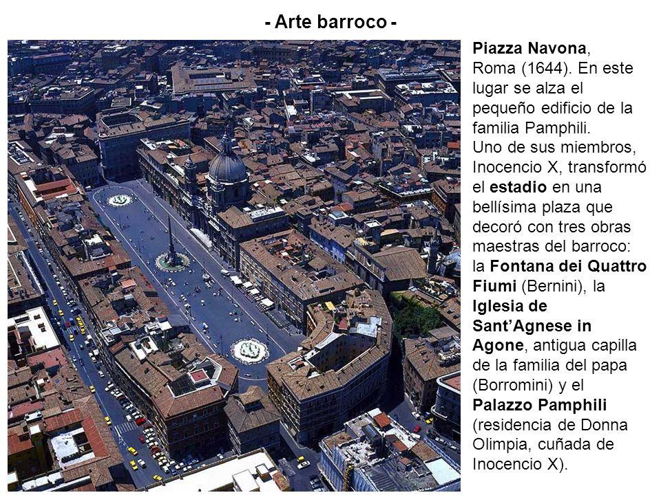 - Arte barroco - Piazza Navona,