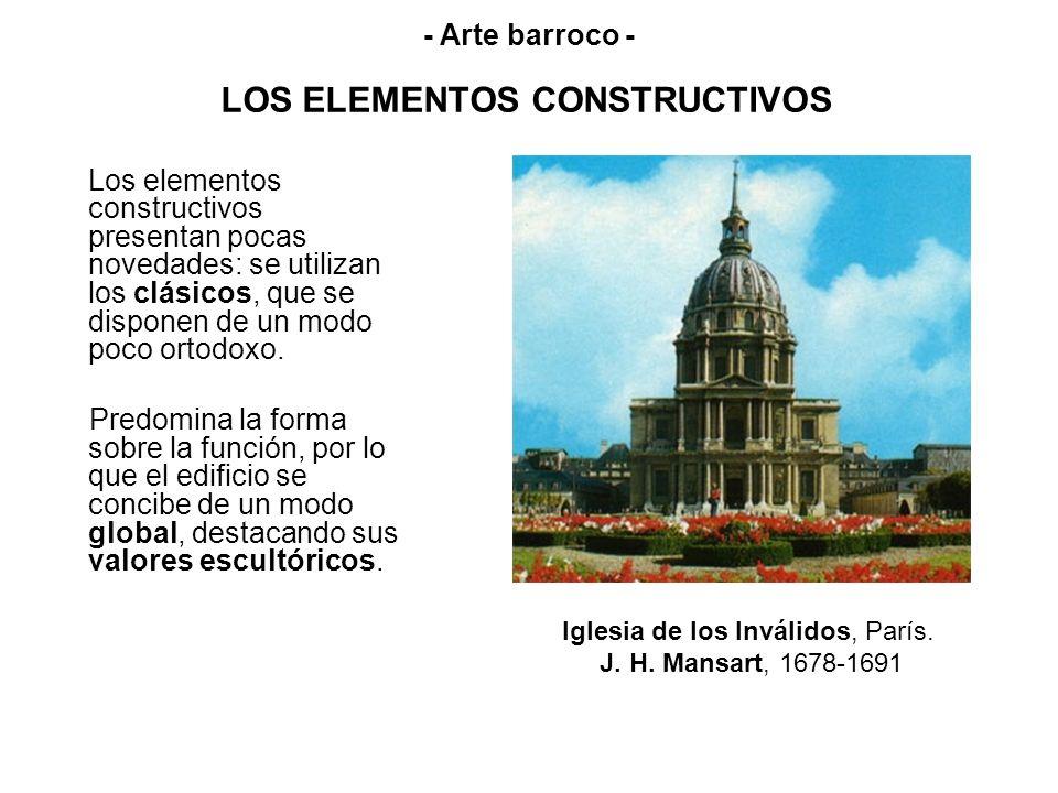 LOS ELEMENTOS CONSTRUCTIVOS