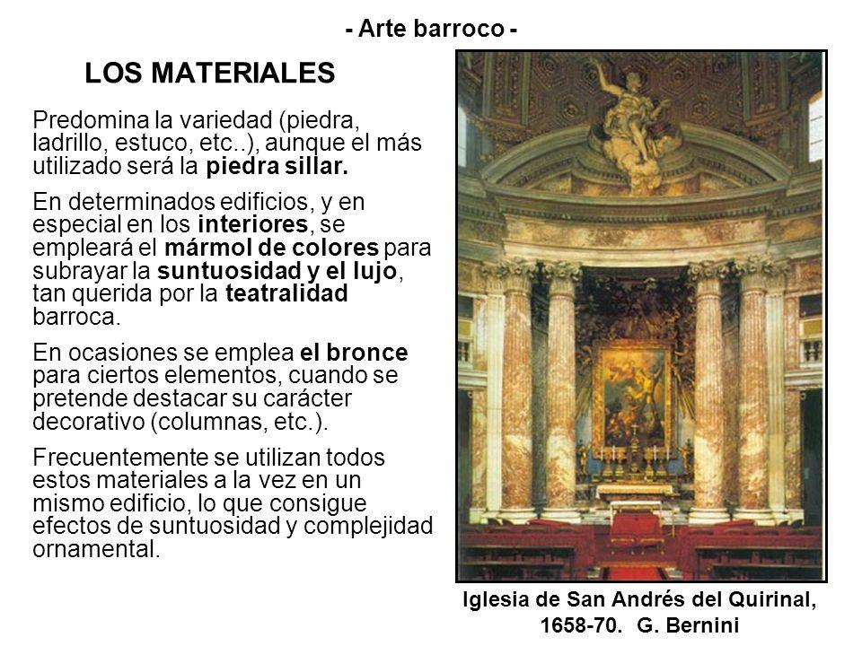 Iglesia de San Andrés del Quirinal, 1658-70. G. Bernini
