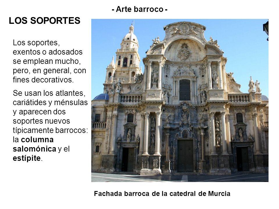 LOS SOPORTES - Arte barroco -