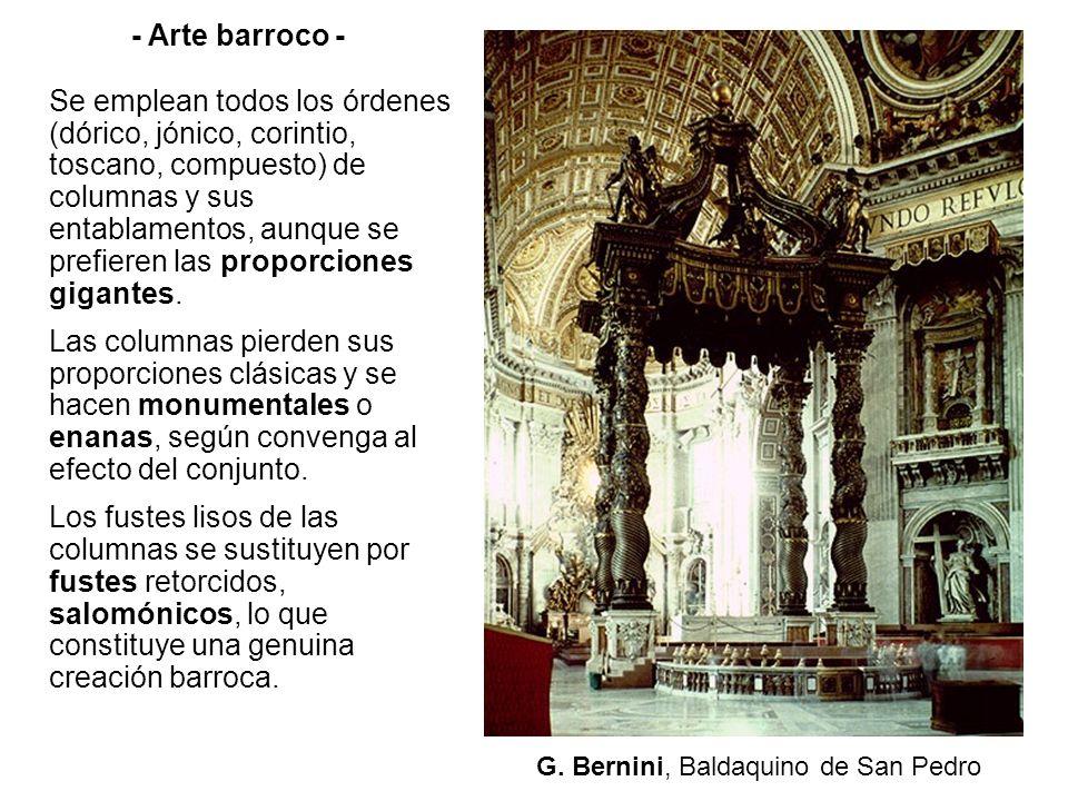 G. Bernini, Baldaquino de San Pedro