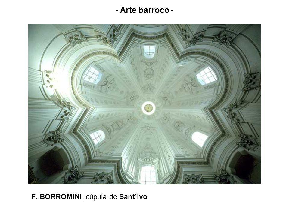 F. BORROMINI, cúpula de Sant'Ivo