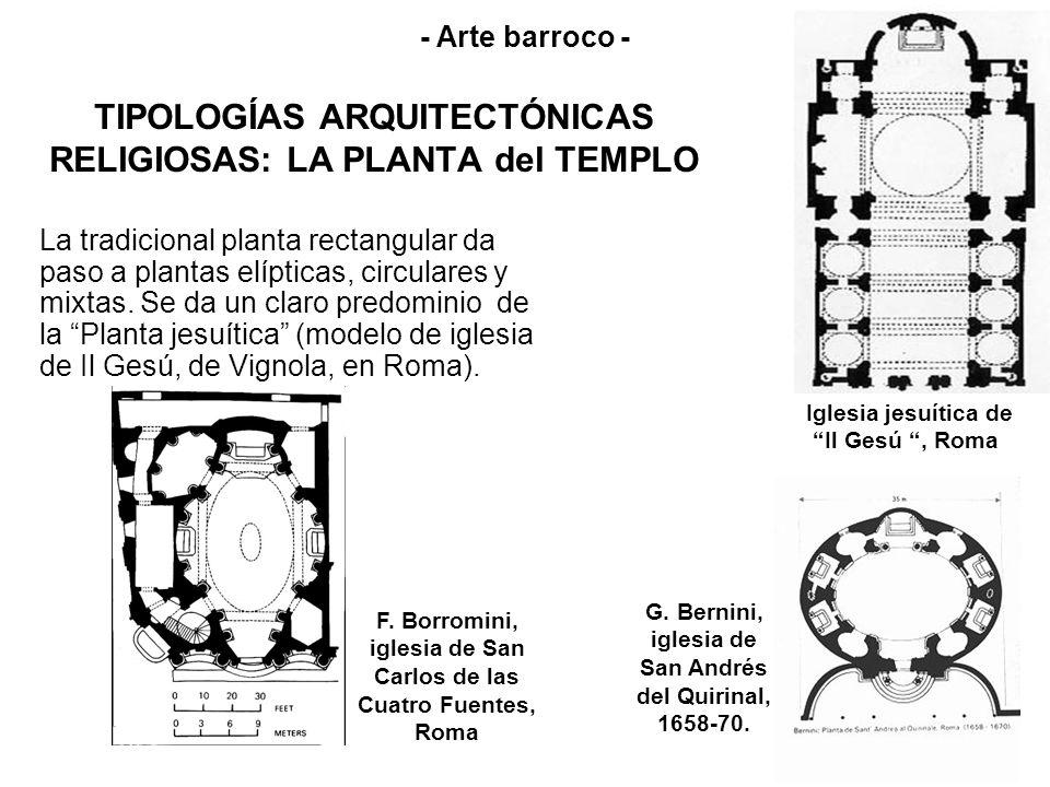 TIPOLOGÍAS ARQUITECTÓNICAS RELIGIOSAS: LA PLANTA del TEMPLO