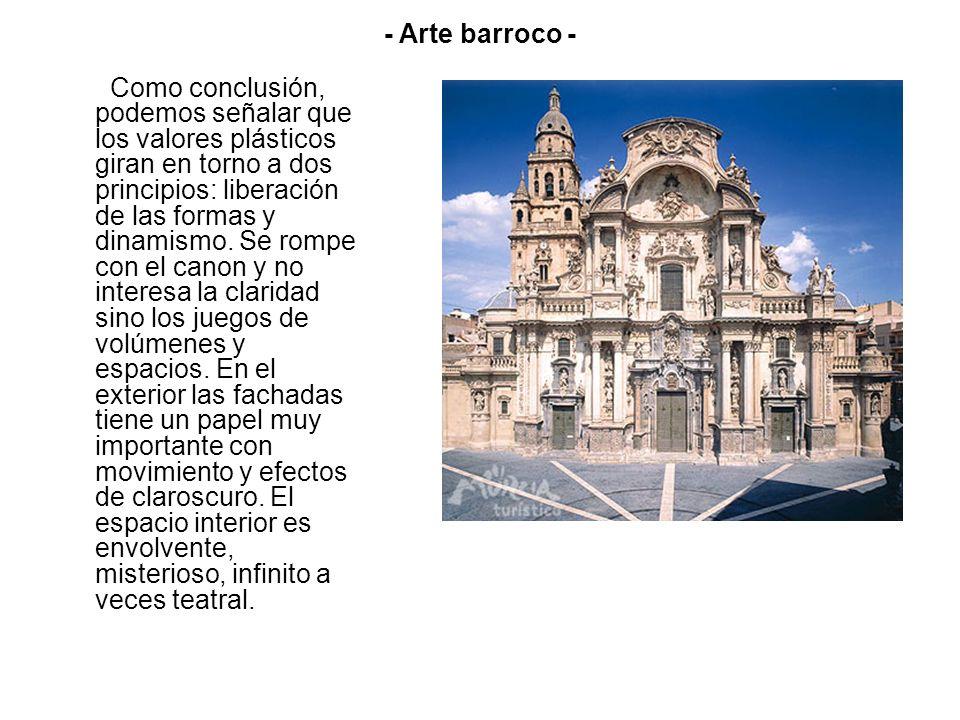 - Arte barroco -