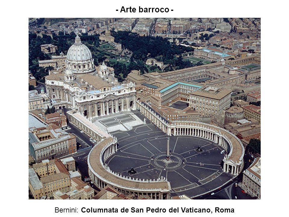 Bernini: Columnata de San Pedro del Vaticano, Roma