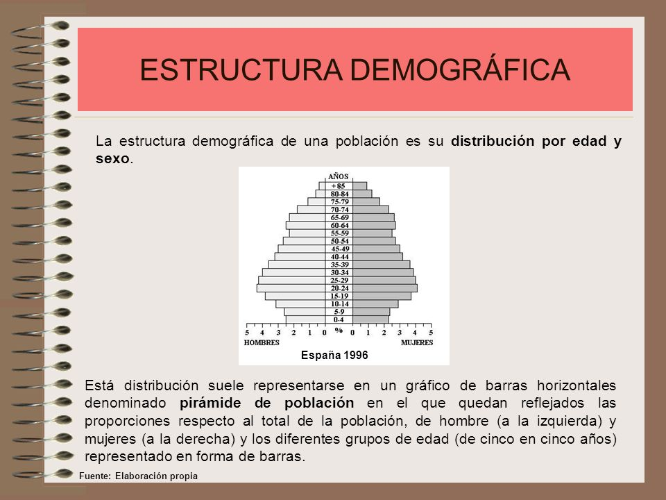 ESTRUCTURA DEMOGRÁFICA