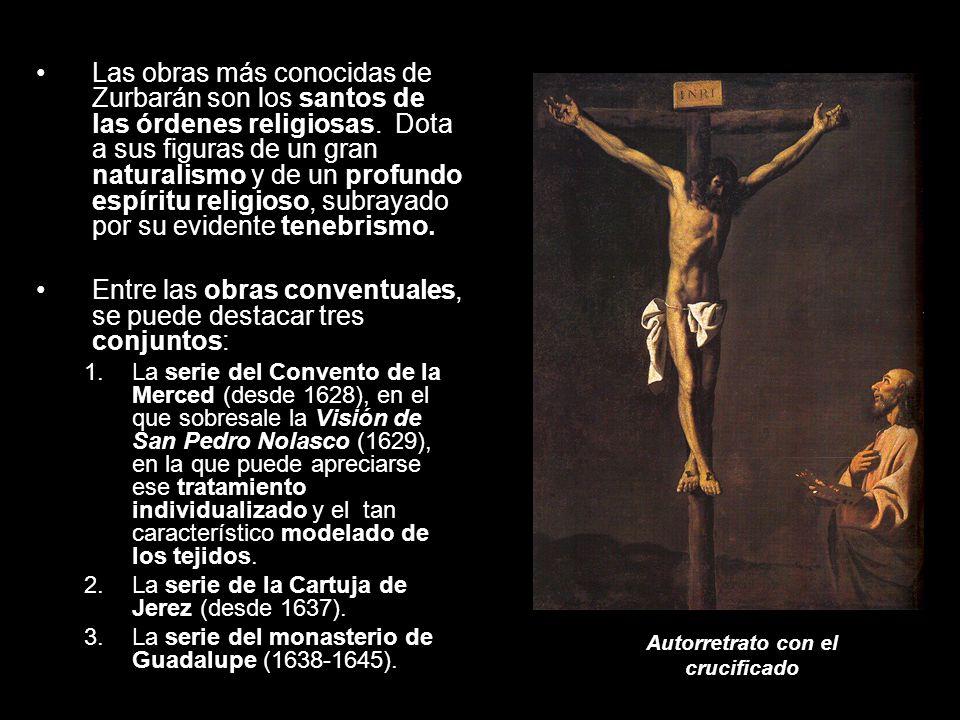 Autorretrato con el crucificado