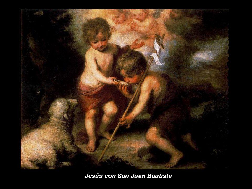 Jesús con San Juan Bautista
