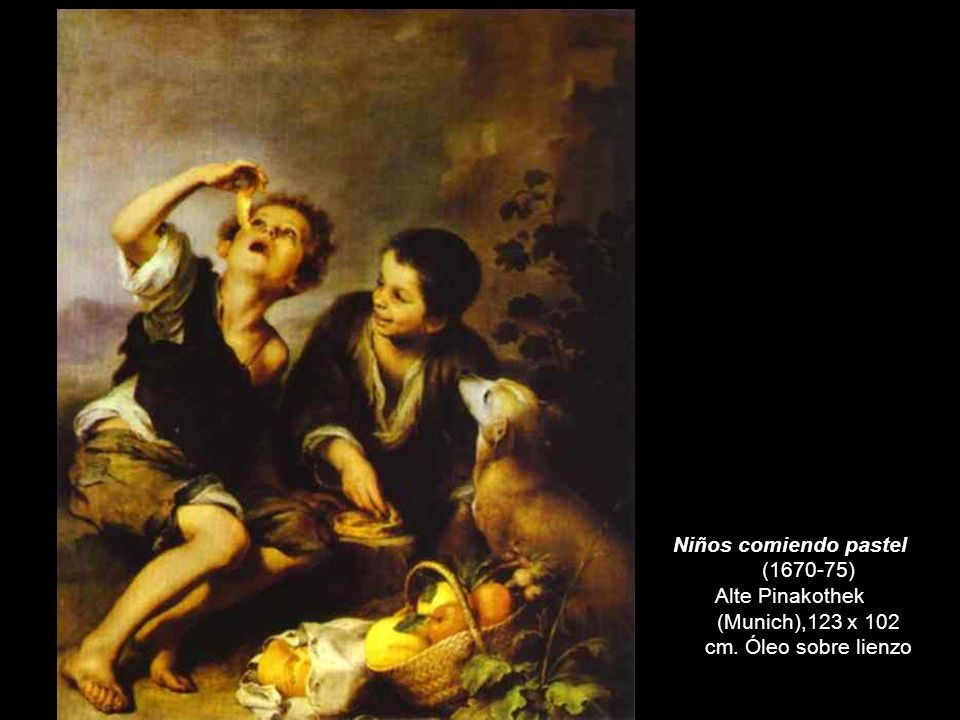 Niños comiendo pastel (1670-75)