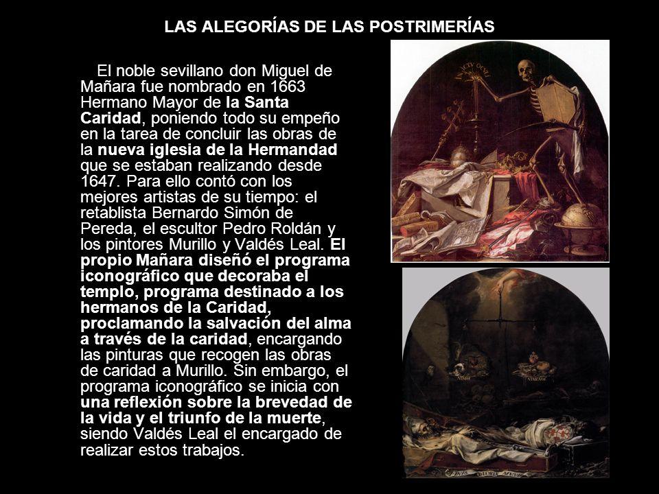 LAS ALEGORÍAS DE LAS POSTRIMERÍAS