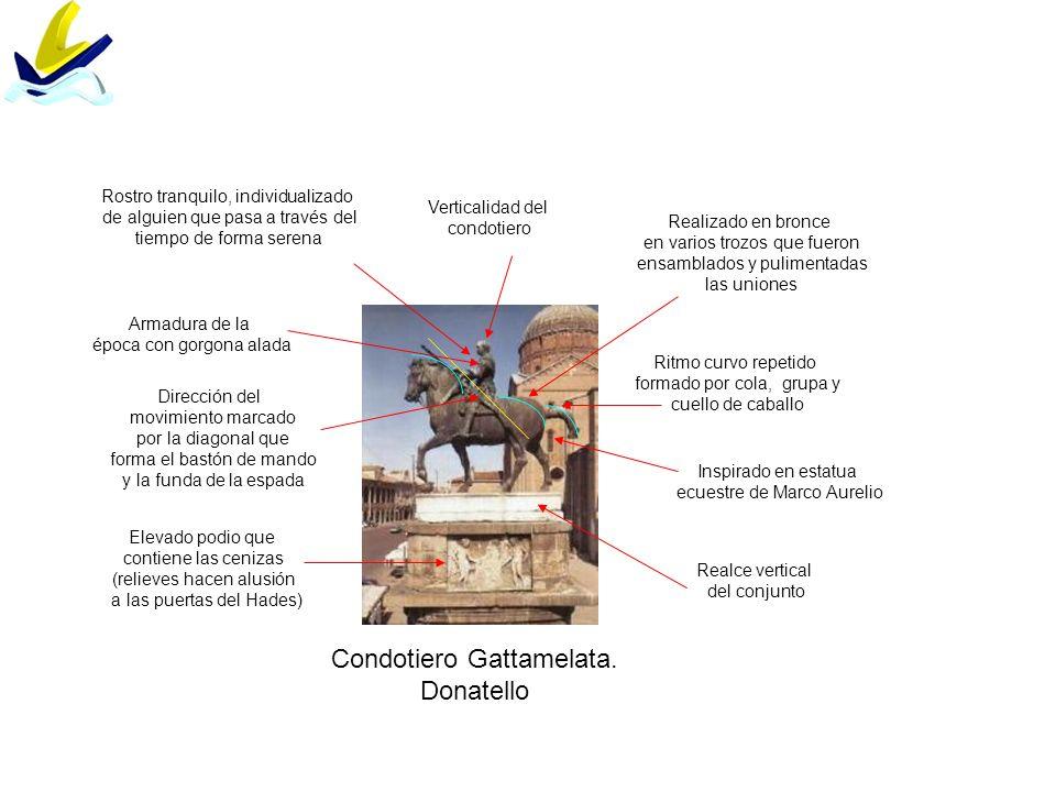Condotiero Gattamelata. Donatello