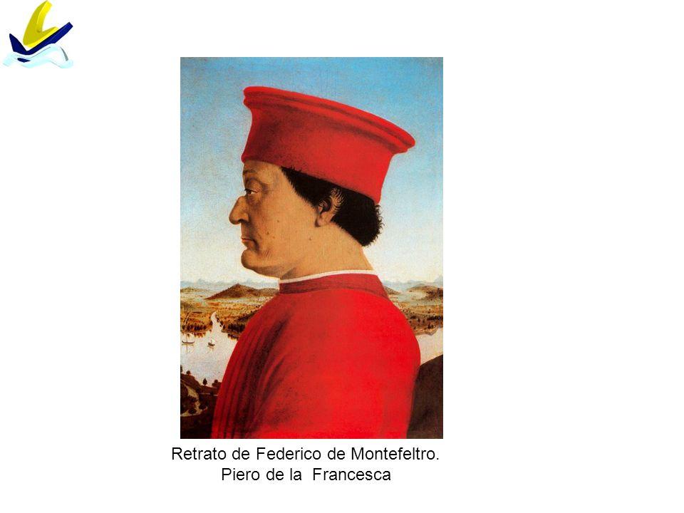Retrato de Federico de Montefeltro.
