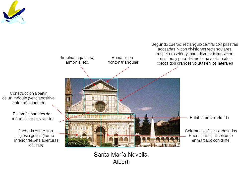 Santa María Novella. Alberti