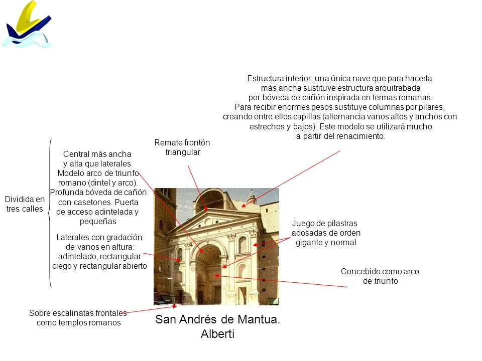 San Andrés de Mantua. Alberti