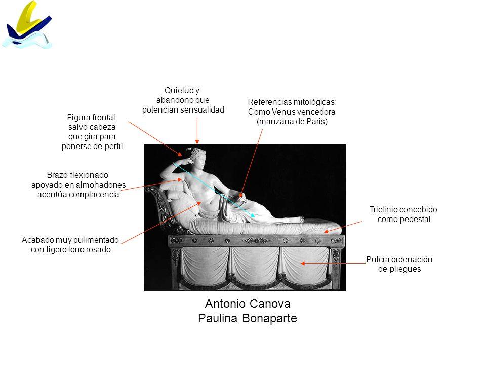 Antonio Canova Paulina Bonaparte Quietud y abandono que