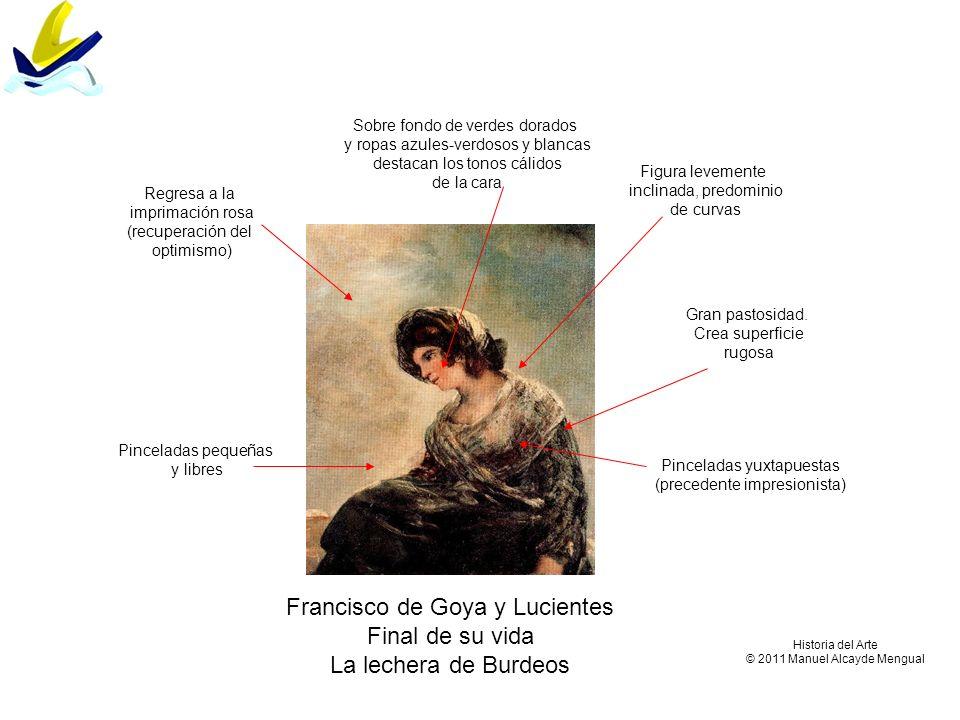 Francisco de Goya y Lucientes Final de su vida La lechera de Burdeos