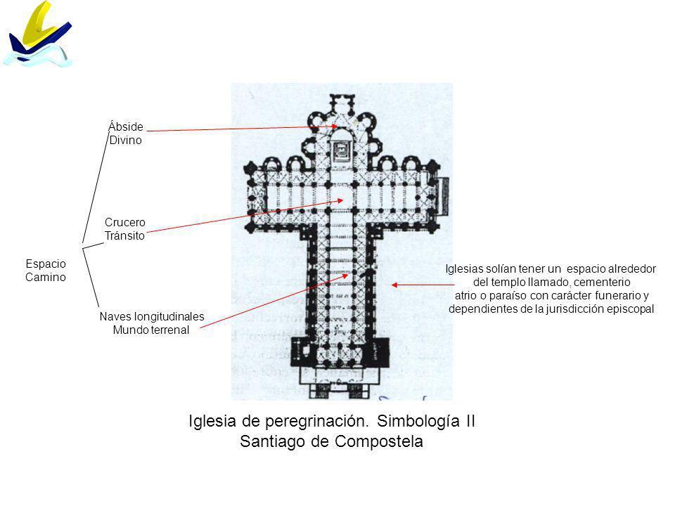 Iglesia de peregrinación. Simbología II Santiago de Compostela