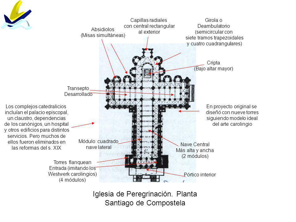 Iglesia de Peregrinación. Planta Santiago de Compostela