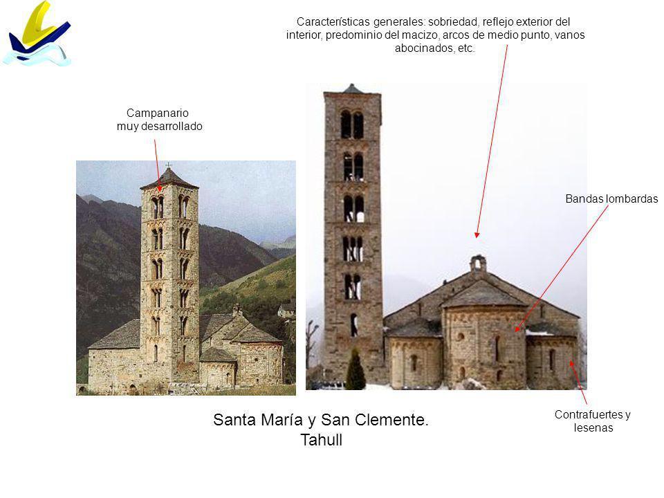 Santa María y San Clemente. Tahull