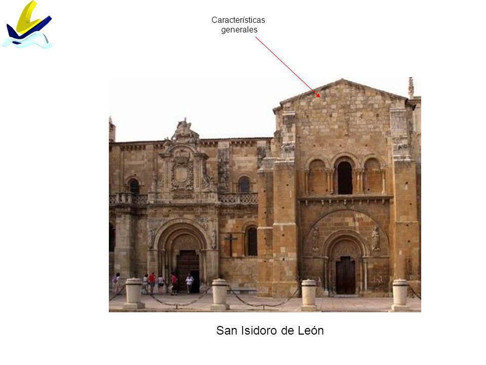 Características generales San Isidoro de León