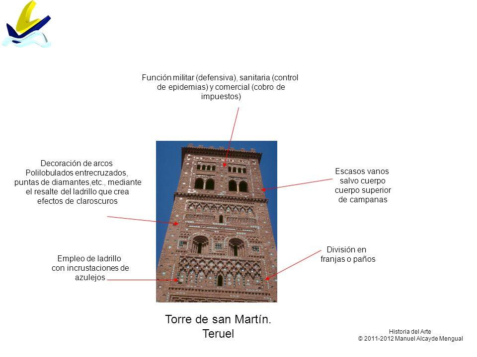 Torre de san Martín. Teruel