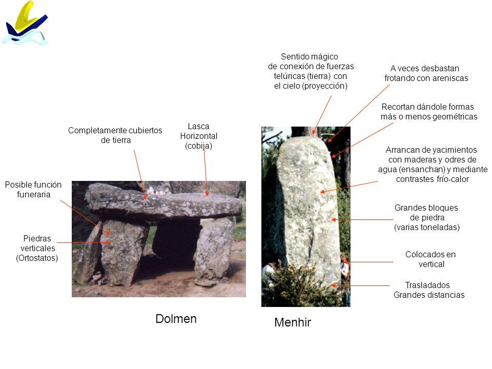 Dolmen Menhir Sentido mágico de conexión de fuerzas