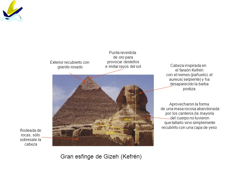 Gran esfinge de Gizeh (Kefrén)
