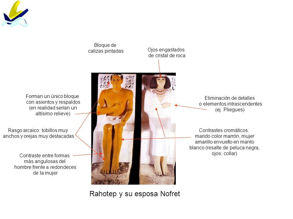 Rahotep y su esposa Nofret