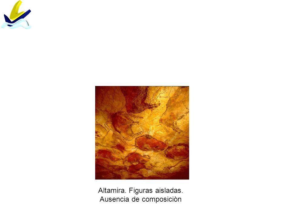Altamira. Figuras aisladas. Ausencia de composiciòn