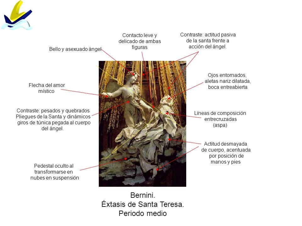 Éxtasis de Santa Teresa. Periodo medio