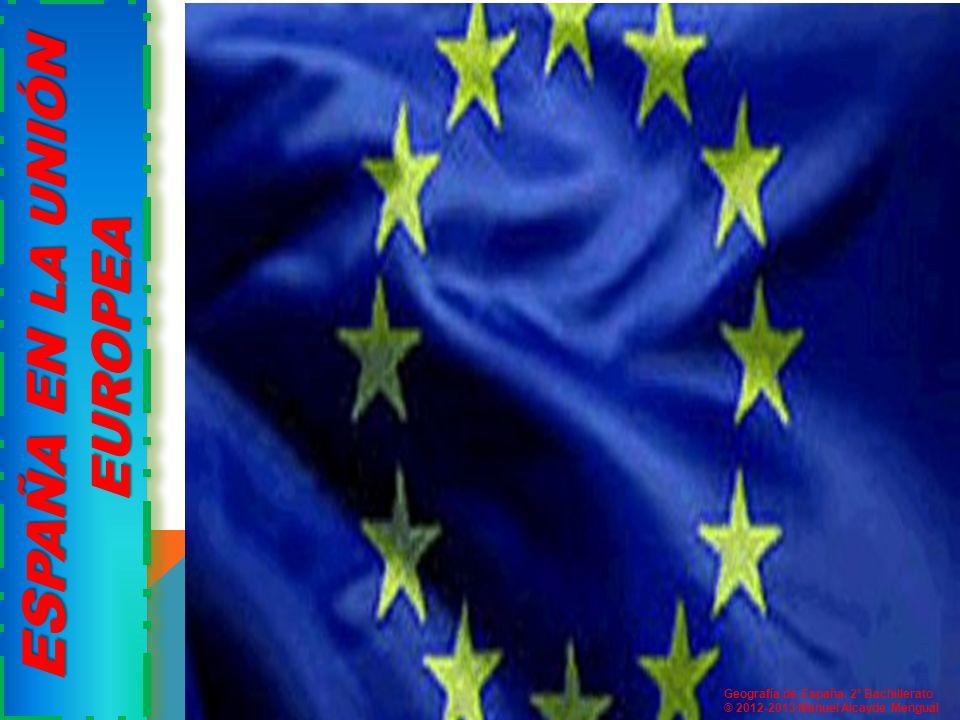 ESPAÑA EN LA UNIÓN EUROPEA vI. ESPAÑA EN LA UNIÓN EUROPEA
