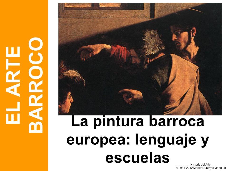 La pintura barroca europea: lenguaje y escuelas