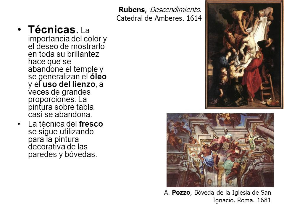 Rubens, Descendimiento. Catedral de Amberes. 1614