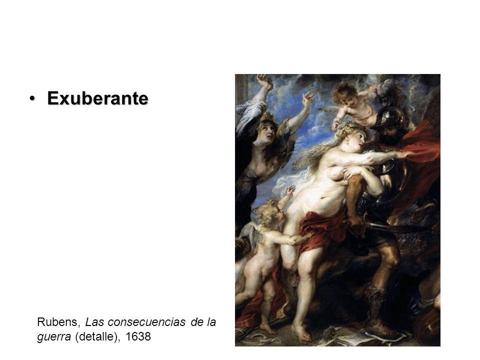 Exuberante Rubens, Las consecuencias de la guerra (detalle), 1638