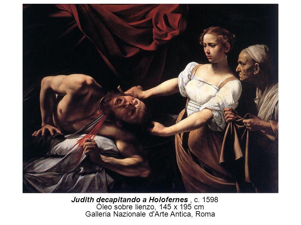 Judith decapitando a Holofernes , c