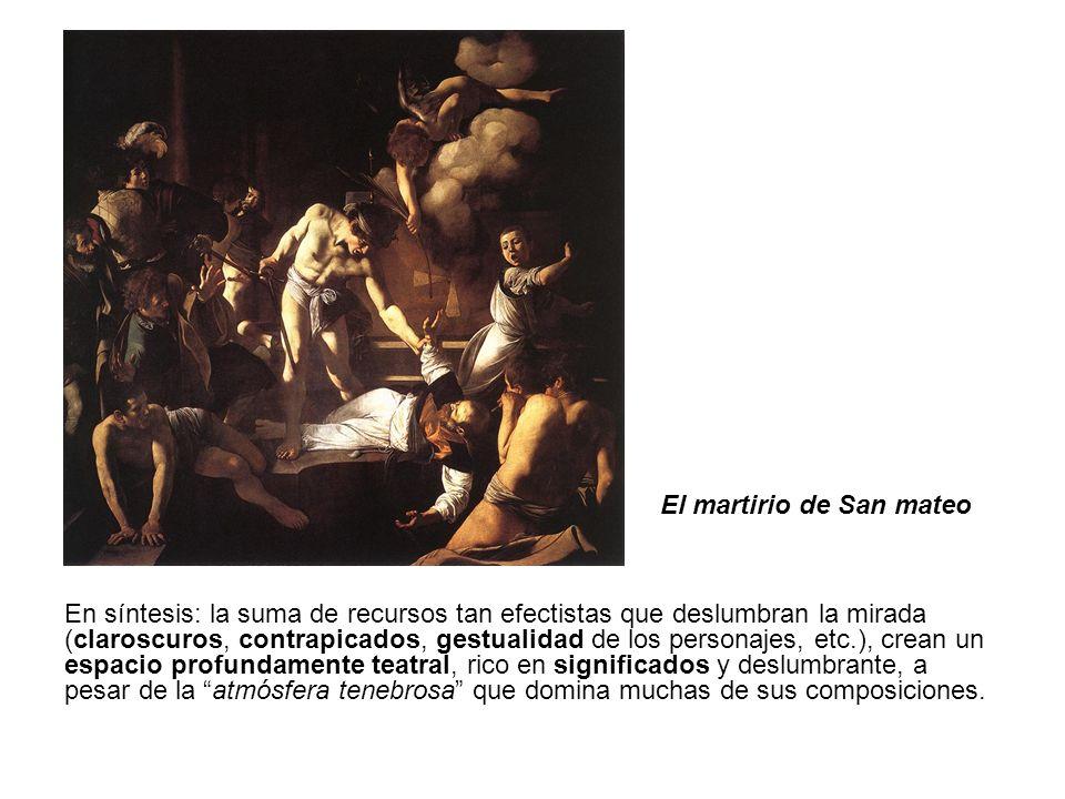 El martirio de San mateo
