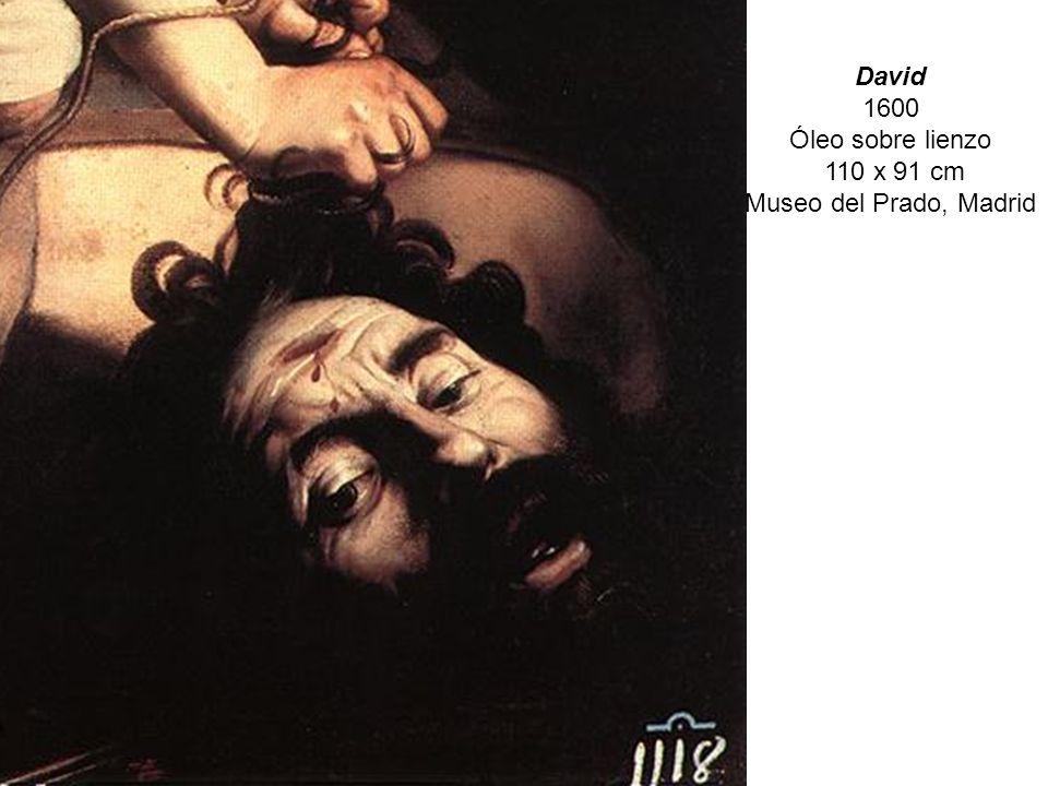 David 1600 Óleo sobre lienzo