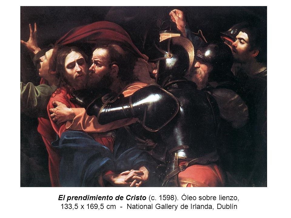El prendimiento de Cristo (c. 1598)