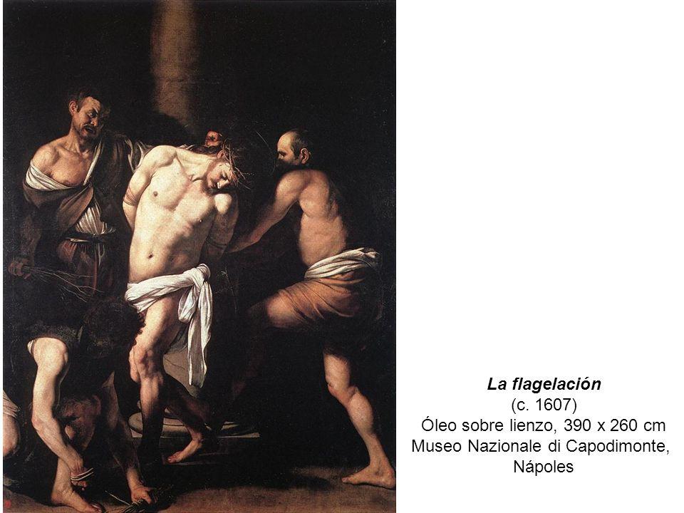 Óleo sobre lienzo, 390 x 260 cm Museo Nazionale di Capodimonte,