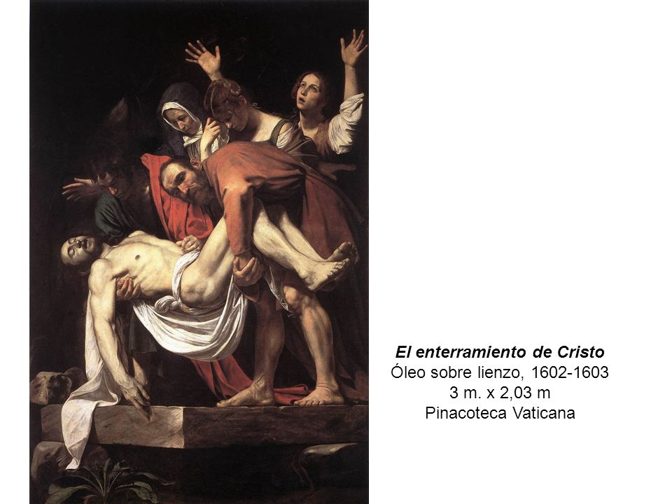 El enterramiento de Cristo