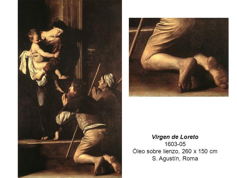 Virgen de Loreto 1603-05 Óleo sobre lienzo, 260 x 150 cm S