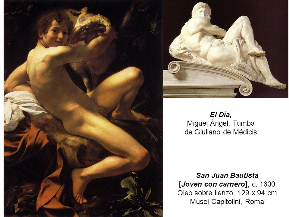 Miguel Ángel, Tumba de Giuliano de Médicis