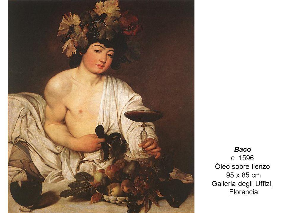 Baco c. 1596 Óleo sobre lienzo